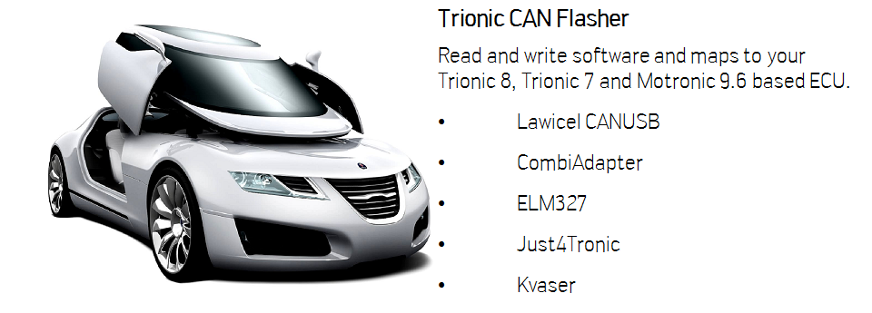 TxSuite | Tools to tune Trionic based Saab and Opel Engines